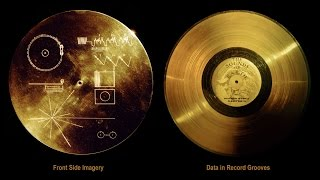 Voyager Golden Record.Complete version audio and images.
