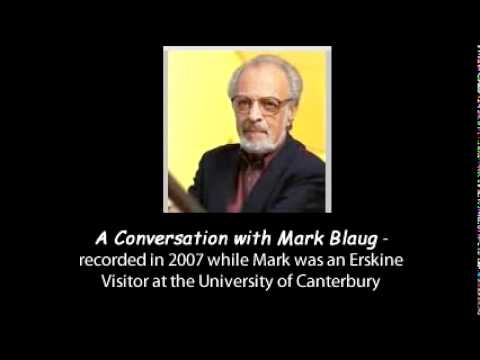A Conversation With Mark Blaug