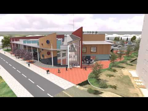 West Bromwich Leisure Centre Flythru 03
