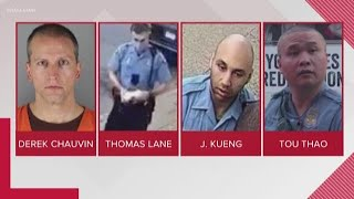 George Floyd death: 3 other officers charged; upgraded charges for Derek Chauvin