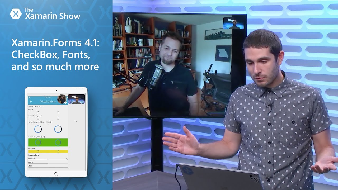 Xamarin Forms 4 1: CheckBox, Fonts, and so much more | The Xamarin Show