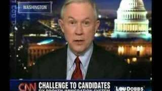 012408 - Jeff Sessions Issues Challenge Free HD Video