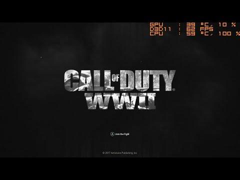 Call of Duty World War II Multiplayer Open Beta
