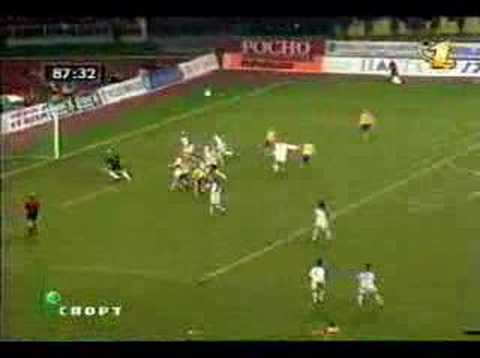 Shevchenko's goal against Russia World Cup Qualify