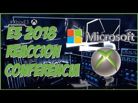E3 2018 REACCIÓN CONFERENCIA MICROSOFT/XBOX