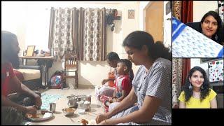 #Vlog మీ కొసం ఒక చీర || దసరా చీరలు || vlog with my brother || Paneer dosa || win a saree Video
