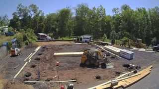 Our New Shop, Pole Building Construction Time Lapse Day 1