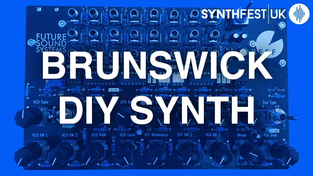 Brunswick is a grimy patchable synth kit with BEEF, for