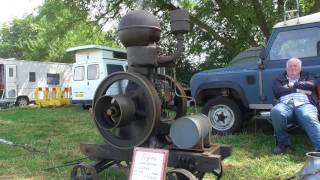 Stationary engines at the West Oxon Steam & Vintage Show, Ducklington, 2017