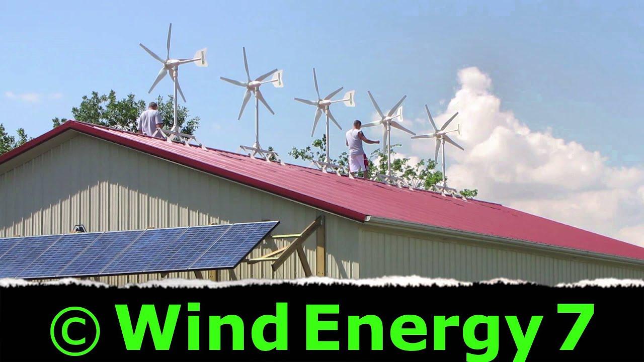 Home Wind Turbine Youtube
