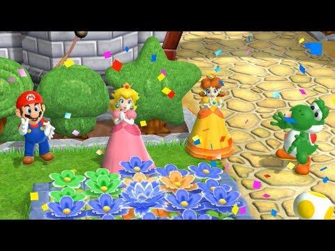 Mario Party 9 - Garden Battle - Peach vs Daisy vs Mario vs Yoshi Master CPU | Cartoons Mee