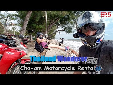"""Cha-am Motorcycle Rental"" - Thailand Wanderer Ep. 5 