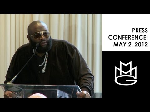 Rick Ross & Maybach Music Group 2012 Press Conference from May 2, 2012