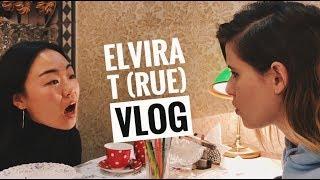 Elvira T (rue) VLOG - новый трек, иностранцы в России,  учим китайский