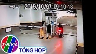 Chuyện cảnh báo: Trộm cắp xe máy trong khu chung cư
