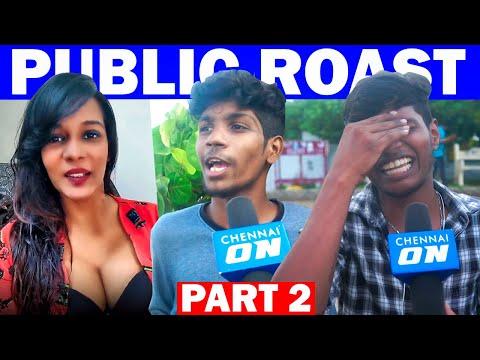 "Meera Mithunஐ வறுத்தெடுத்த Thala ரசிகர்கள்"" | Part 2 | Public Roast | Chennai ON!"