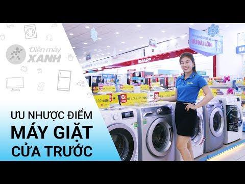 Ưu nhược điểm máy giặt cửa trước • Điện máy XANH