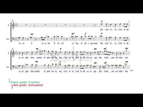 Au Fond Du Temple Saint Instrumental, Duet For Tenor And Baritone