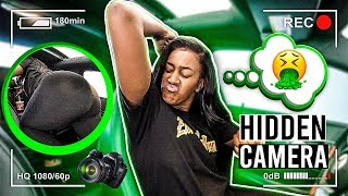 "HIDDEN CAR CAMERA ON GIRLFRIEND!!!🤮 ""SOCIAL EXPERIMENT"""