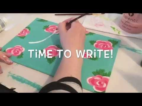 Mothers Day DIY Tumblr Inspired Painting Tutorial