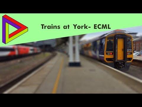 Trains At #72  York- ECML [03/11/2017]