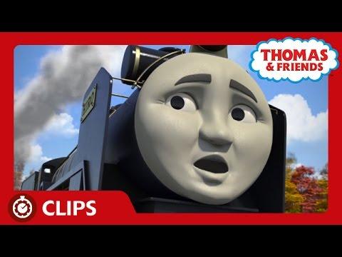 Thomas and Hiro Run Into Trouble on the Tracks | Clip | Thomas & Friends