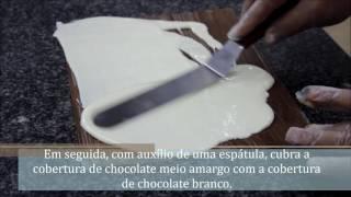 Como Fazer Plaquinhas de Chocolate