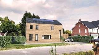 SIP EUROPE - Building with structural insulated panels in Wolfheze, Arnhem - Netherlands