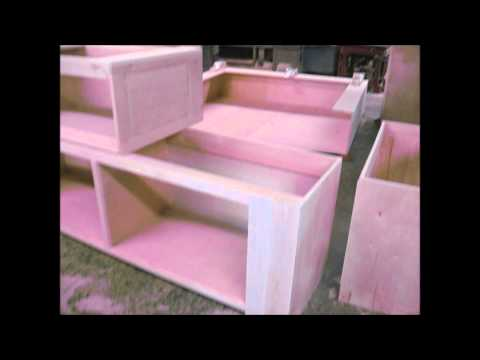 Building a HUGE Entertainment Center, from start to finish..