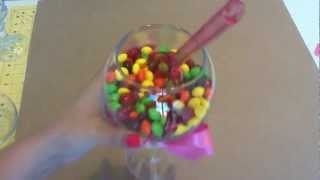How To Make A Candy Jar From Dollar Store Items