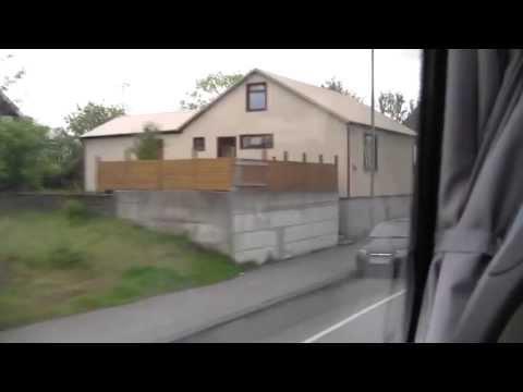 Reykjavik to Keflavik airport flybus ride.