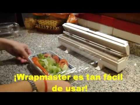Dispenser de papel film nuevo youtube - Papel de vinilo para cocinas ...