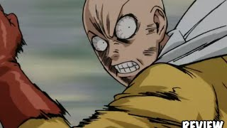 One Punch Man Episode 6 Review- Saitama VS Sonic Fight Round 2 & Tornado Intro Reaction ワンパンマン