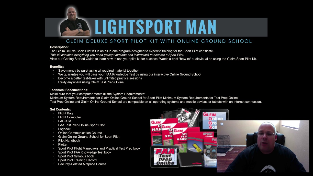 Lightsport Man How To Save Money On Flight Lessons And Ground