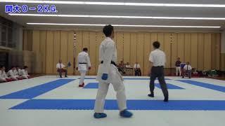 片岡岳斗(関西学院1年)-中島郷(関西大学1年)平成29年関関同立空...
