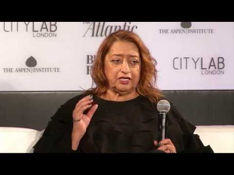 Interview: Zaha Hadid / CityLab 2015