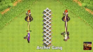 Single Target Inferno Tower vs Multiple Target Inferno Tower Clash of Clans Christmas Update
