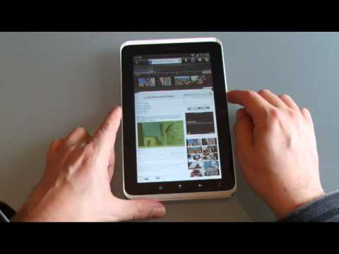 HTC Flyer video review [ENGLISH!] -- Exclusive