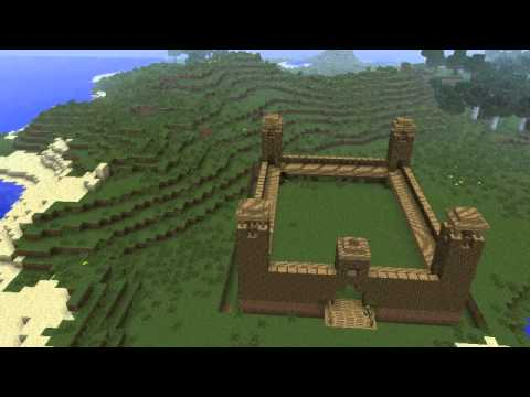 Minecraft Timelapse Roman Army Camp YouTube