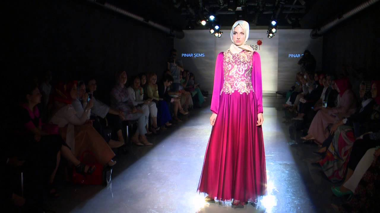 P Nar Ems Modanisa Defile Tasar Mc Lar Hijab Fashion Show 2014 Youtube