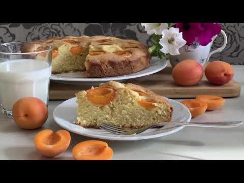 Пирог с АБРИКОСАМИ. Простой рецепт