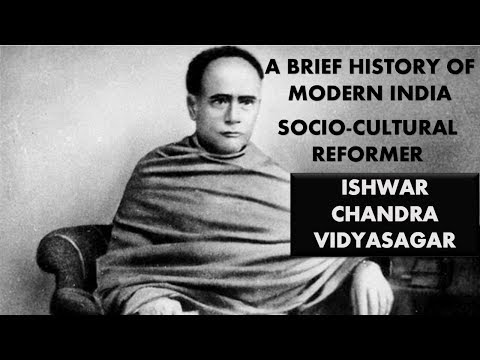 Modern History- Ishwar Chandra Vidyasagar for UPSC, State PSC, ssc cgl, other government exams