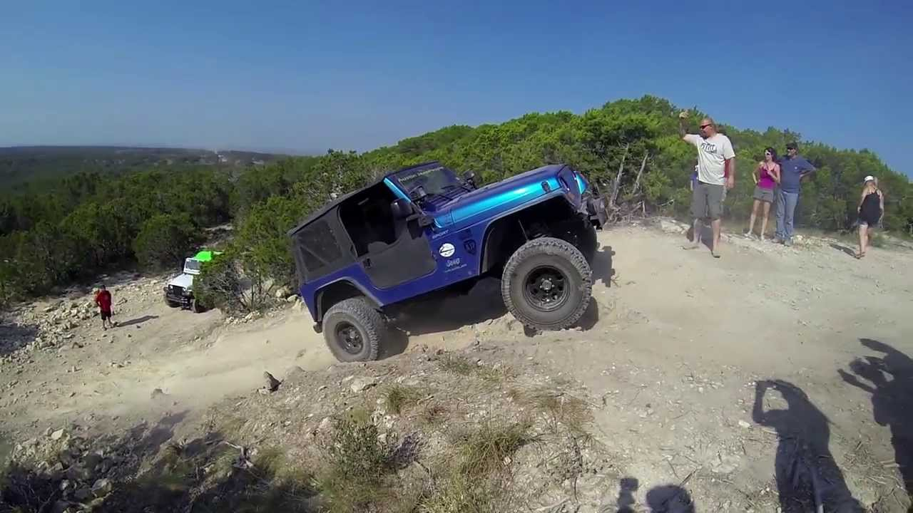 Austin Jeep People Wheel The 4 Wheel Parts Rally Youtube