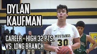 Marlboro 72 Long Branch 67 | Dylan Kaufman Career-High 32 Points | Marc Dennis 1,000th Point