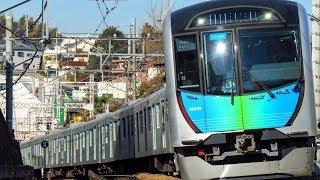 西武40000系40102F【S_TRAIN】菊名カーブ通過