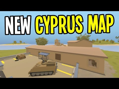 Unturned Update! NEW MAP! CYPRUS ARENA and SURVIVAL!! (Update 3.23.5.0)