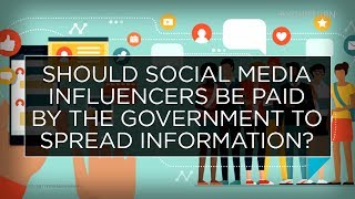 Should social media influencers be paid by the government to spread information? | Outburst