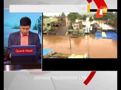 Heavy Rain Triggers Flash Floods In Rayagada's Kalyansinghpur block