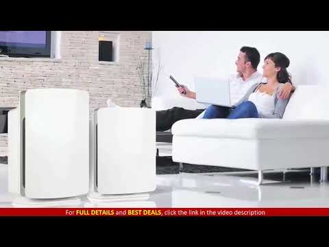 Alen FIT50 Customizable Air Purifier with HEPA Filter to Remove Allergies & Dust
