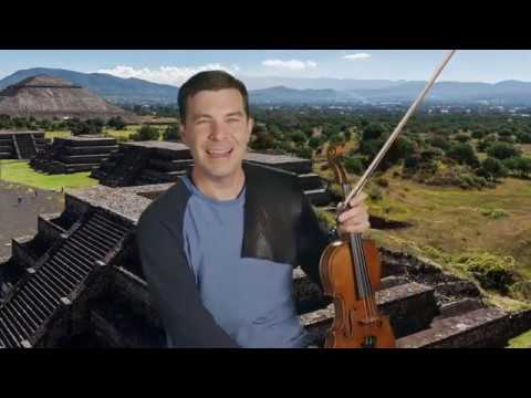 Bach on the Road 10: d minor Allemanda and Corrente